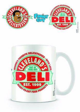 Family Guy (Cleveland's Deli) - MUG (11oz) (Brand New In Box)